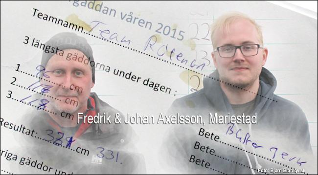 vänergäddan 2015 team rotenon 331 cm gädda buster jerk