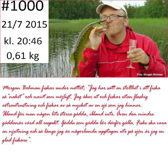 Morgan Bohman gäddfiske gädda norrland outdoor björn blomqvist