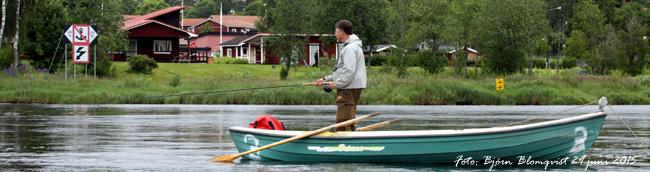 zon 2 Klarälven forshaga laxfiske flugfiske