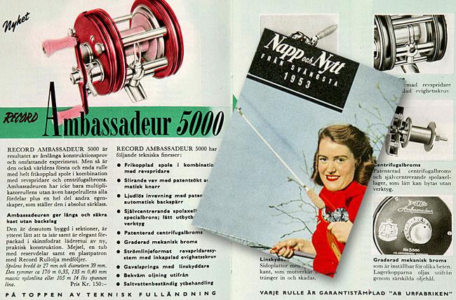 SG 5000 record ambassadeur 1953 outdoor björn blomqvist