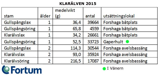sättfisk i klarälven fortum 2015