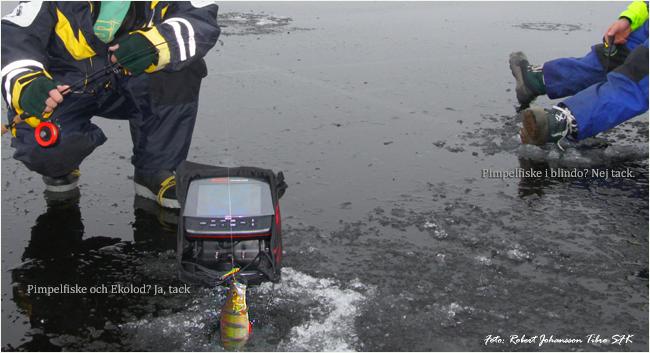 Ekolod is isfiskelod isfiske pimpelfiske marcum lx9 outdoor björn blomqvist