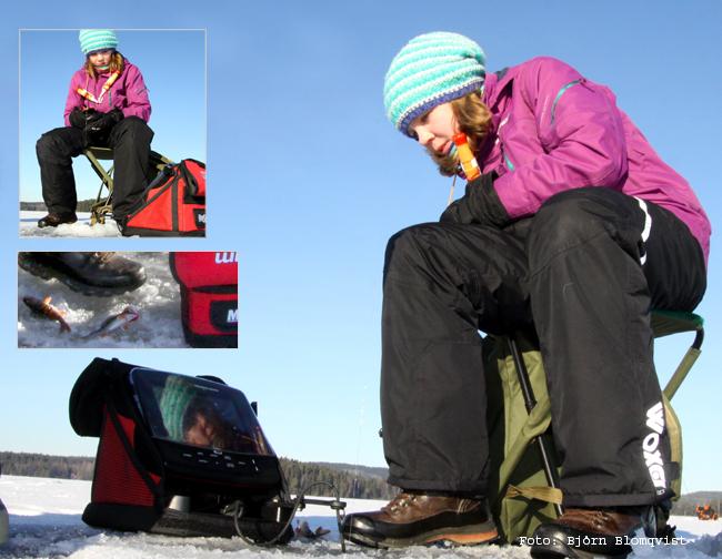 isekolod ekolod flasher pimpelfiske vinter abborre outdoor björn blomqvist