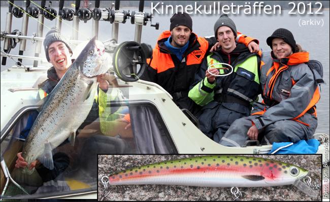 2012 kinnekulleträffen rekordlax insjölax gullspångslax trollin trollingbåt vänern outdoor björn blomqvist