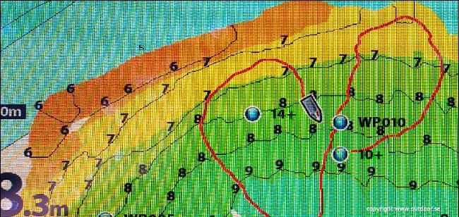 djupkarta storgädda hot spot helix 9 humminbird outdoor björn blomqvist