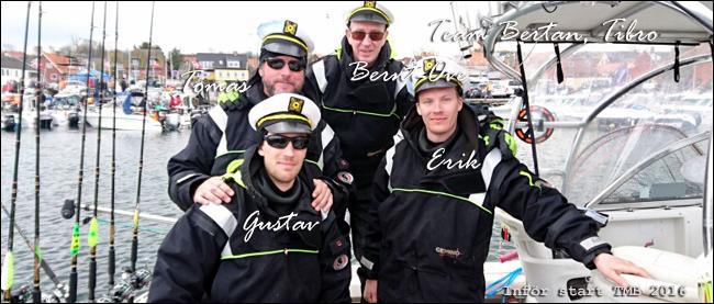 team bertan tibro tmb 2016 trolling lax östersjön Tomas borg bern-ove sandsjö gustav o erik österplan