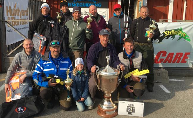 1a Team Järnet  silver Team Regal och Team Tunga Påslag på 3e plats