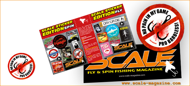 no pain in my game pro barbless scale magazine fly spin 2017