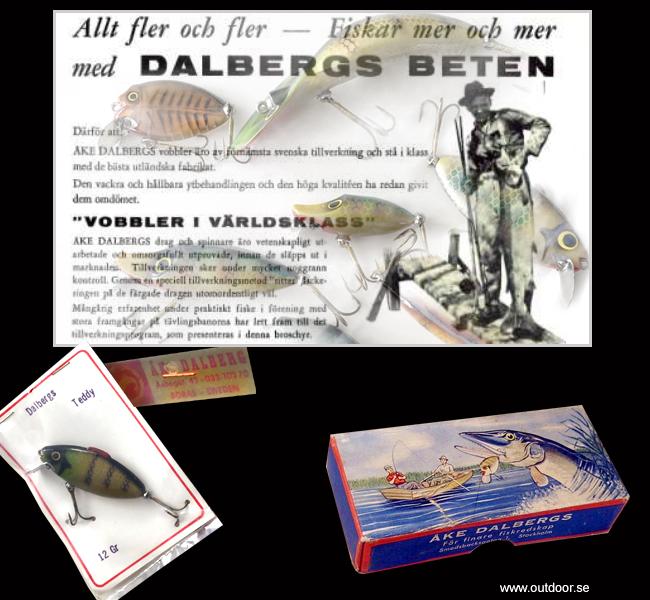 Åke Dalberg ÅD vobbler river runt wamp spook teddy bonzo isabella pike jr betestillverkare sverige whiskybug samla gamla beten drag outdoor björn blomqvist