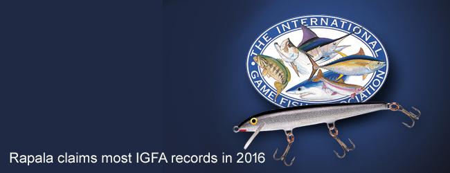 rapala vobbler 14 värdsrekord igfa 2016 beten