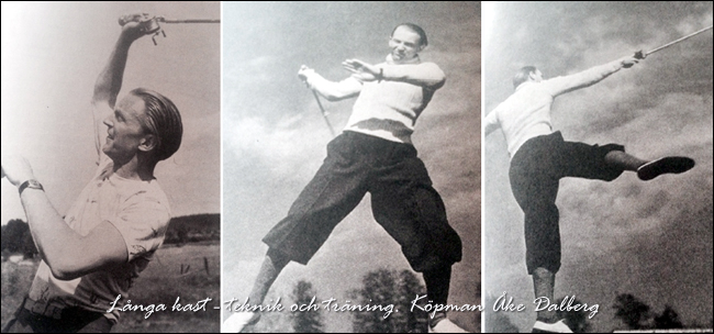Åke Dalberg ÅD-drag Casting 1910-1973 Borås