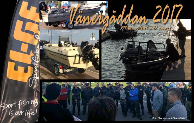 Vänergäddan 2017 kaptensmöte start hamn mariestad 20 maj