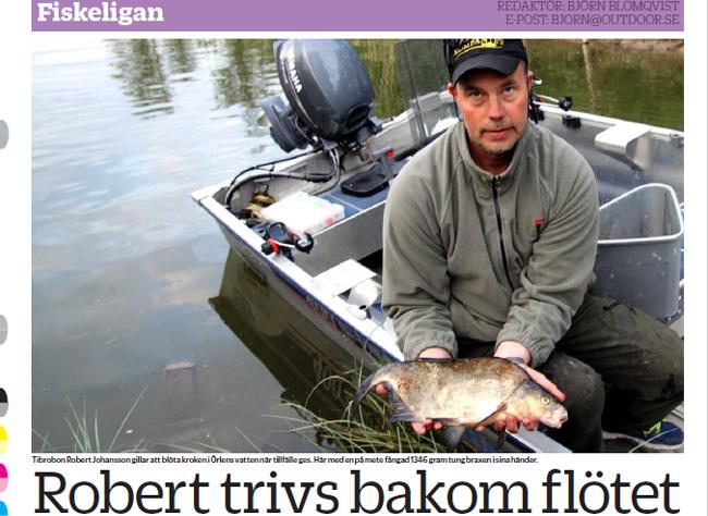 robert johansson tibro trivs bakom flötet sla fiskeliga bjrön blomqvist