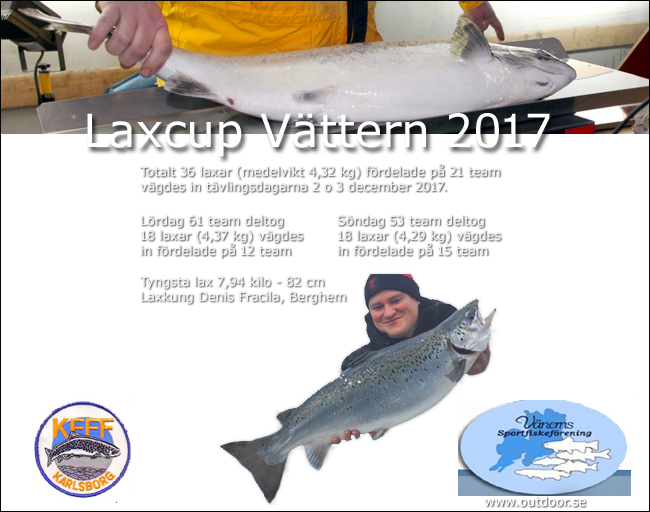 02 Laxcup Vättern 2017 36 laxar 7,94 kilo tyngsta gullspångslaxen denis fracila berghem outdoor.se
