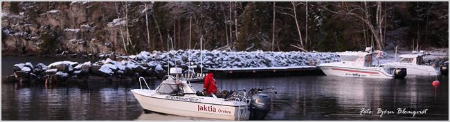 Team jaktia Örebro öring lax Vättern december 2017 outdoor björn blomqvist