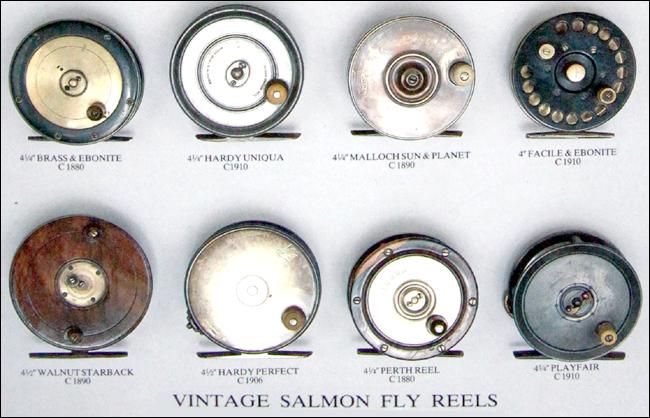 Vintage salmon fly reels outdoor bjorn blomqvist