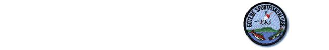 götene sportfiskeklubb logga tygmärke