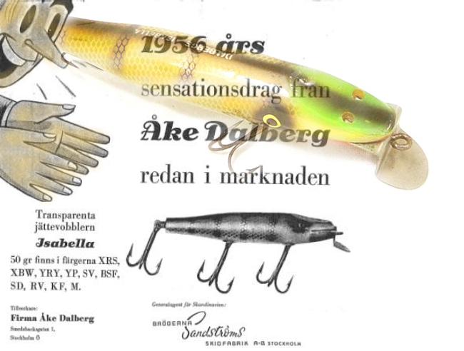 isabella åke dalberg vobbler beten drag spinnare gäddvobbler outdoor björn blomqvist