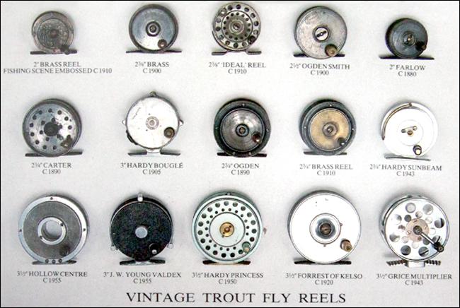 vintage trout fly reels outdoor bjorn blomqvist