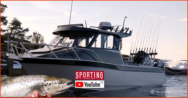 Sporting tv youtube petter larsson fiskeguide vänern trolling lax öring