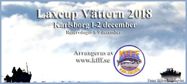 Laxcup Vättern 2018 1 o 2 december karlsborg foto björn blomqvist trollingfiske laxfiske laxtrolling